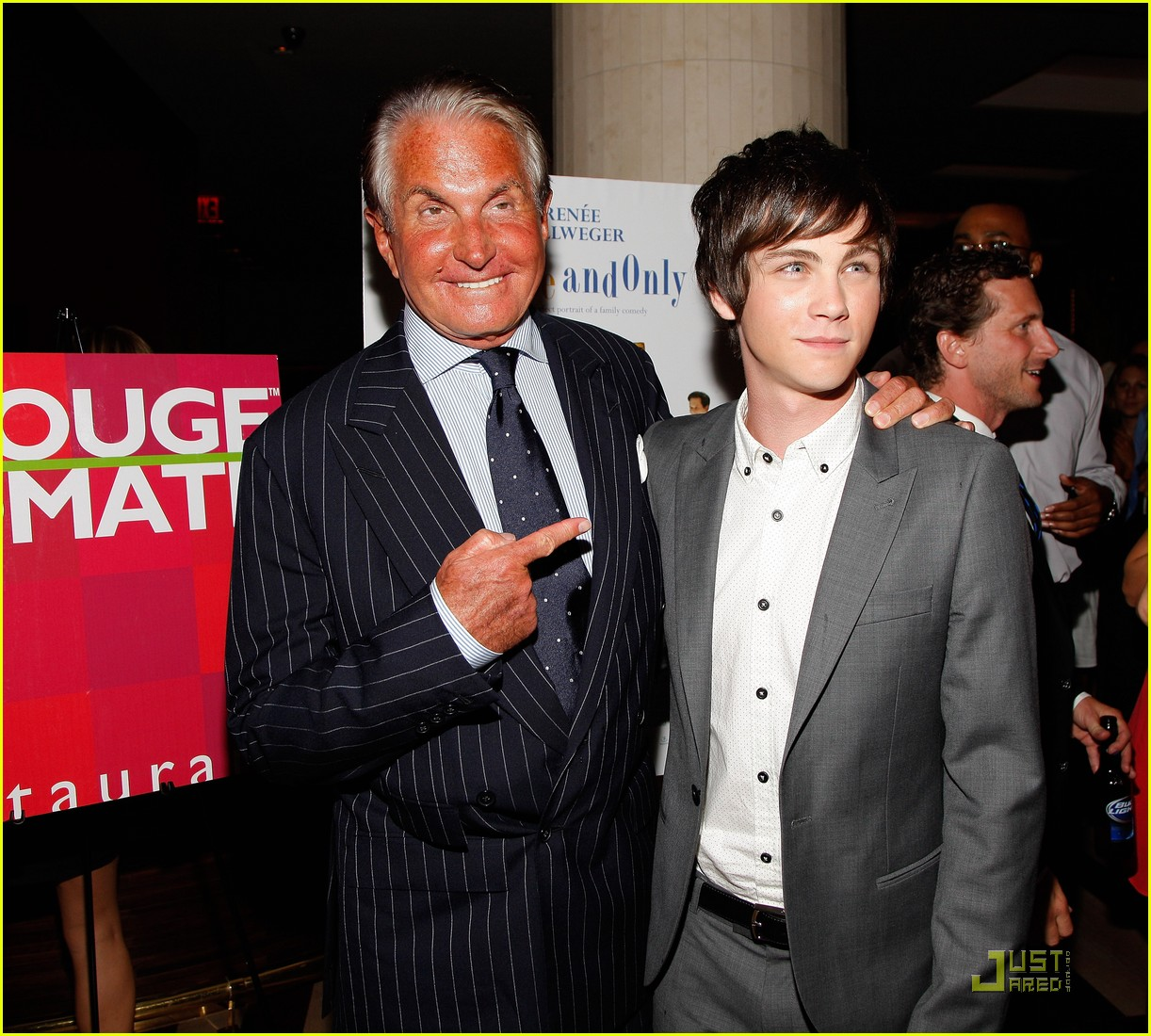 logan lerman my one and only premiere 11