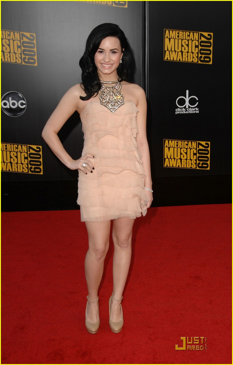demi lovato 2009 amas 01