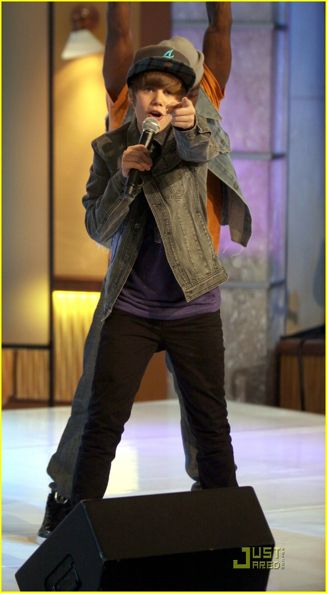 justin bieber gma sunday 09