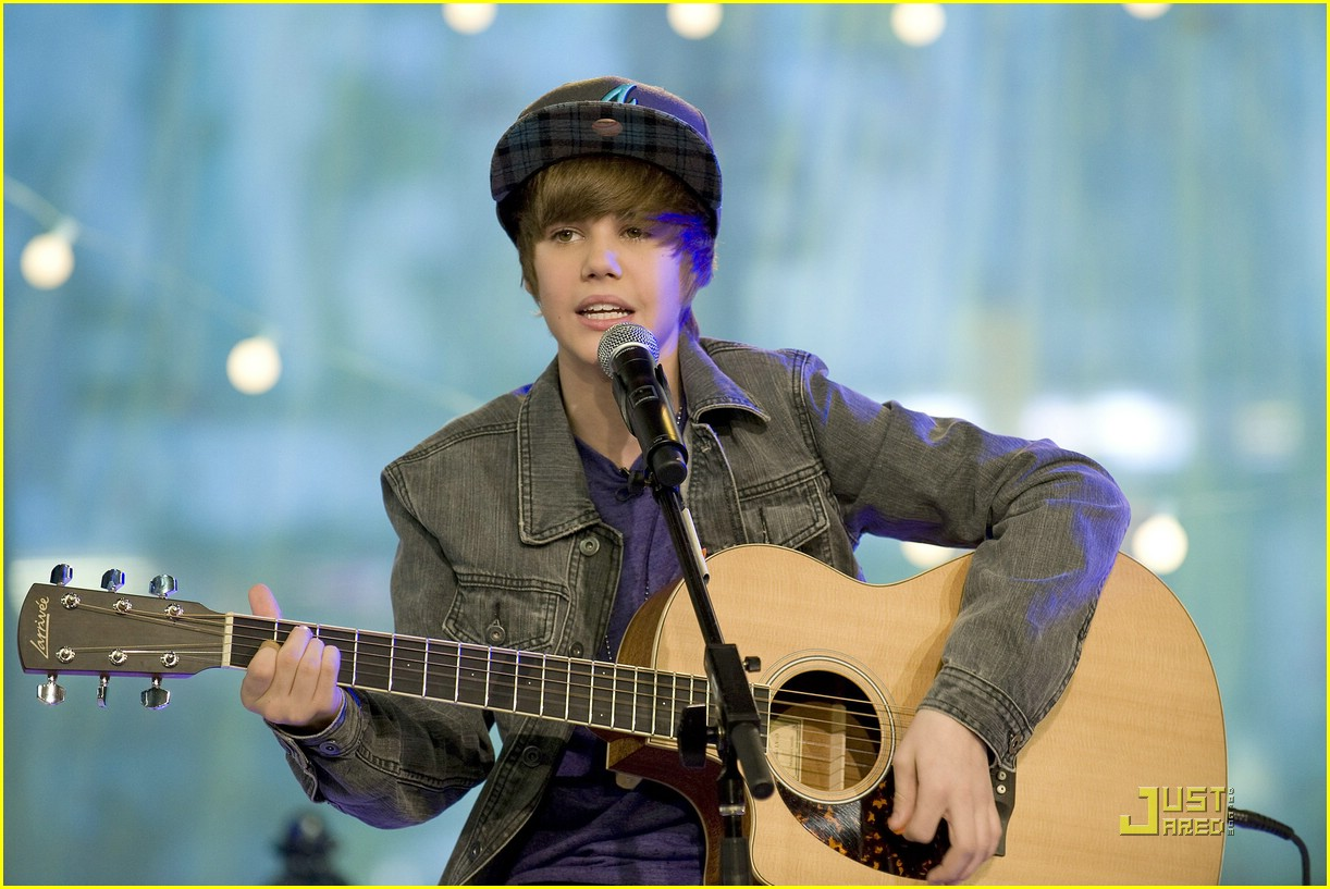 justin bieber gma sunday 12