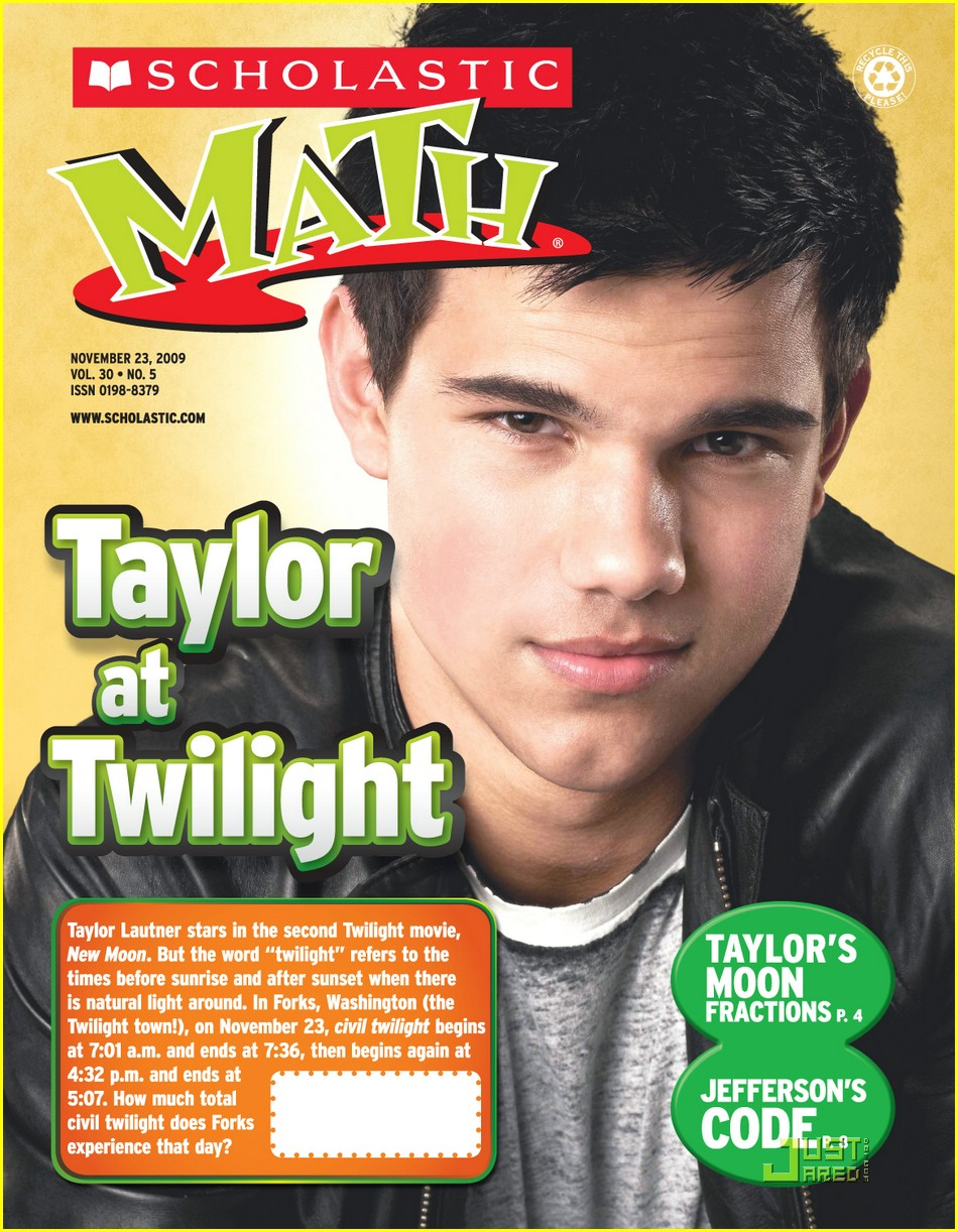 talyor lautner scholastic math 01