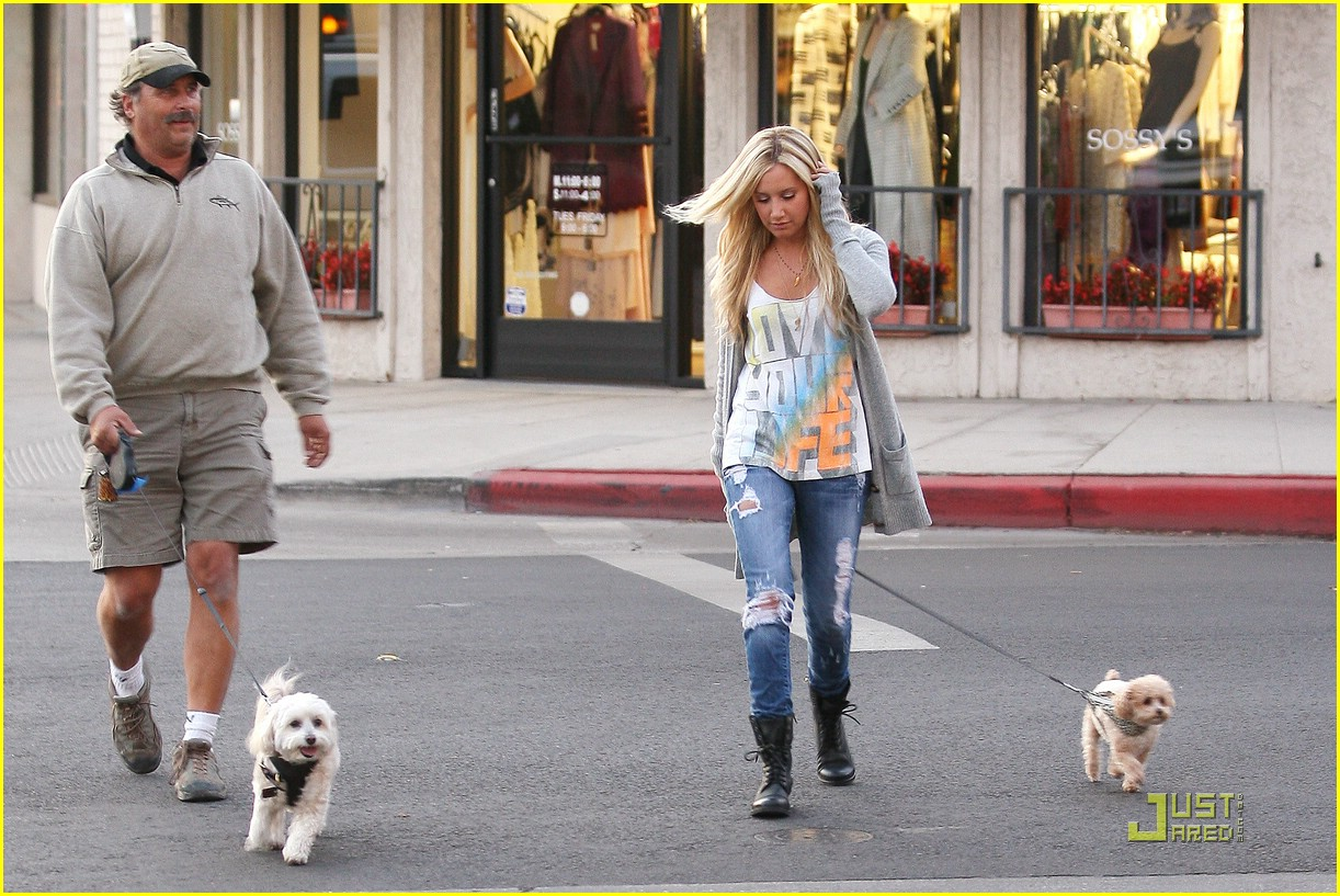 ashley tisdale prancing pups 02