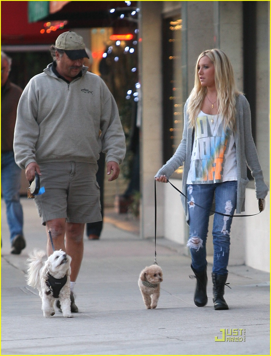 ashley tisdale prancing pups 03