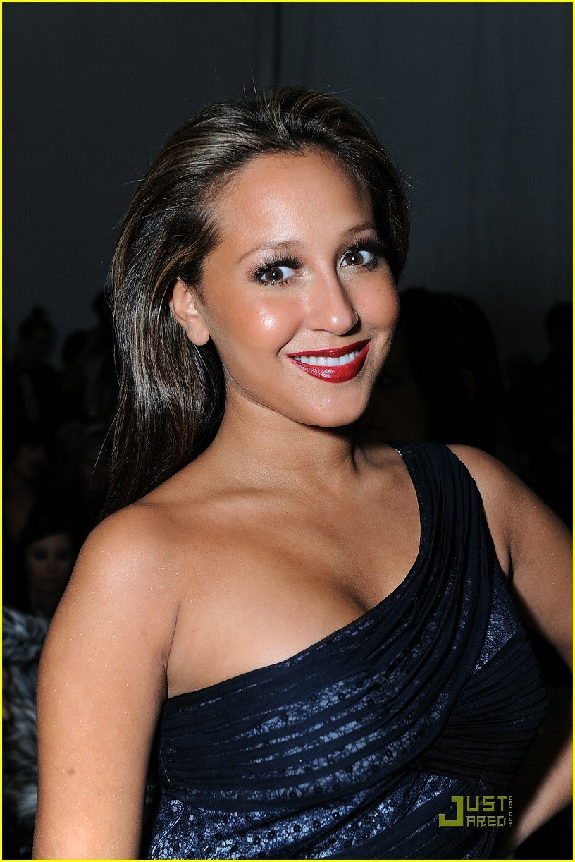 adrienne bailon fashion week 09
