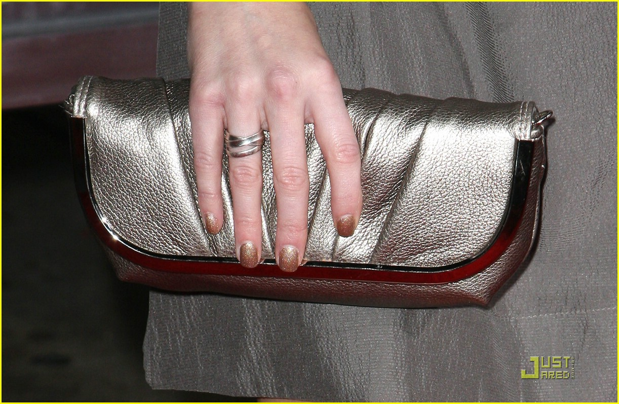 Alexa Vega Shows Off Engagement Ring