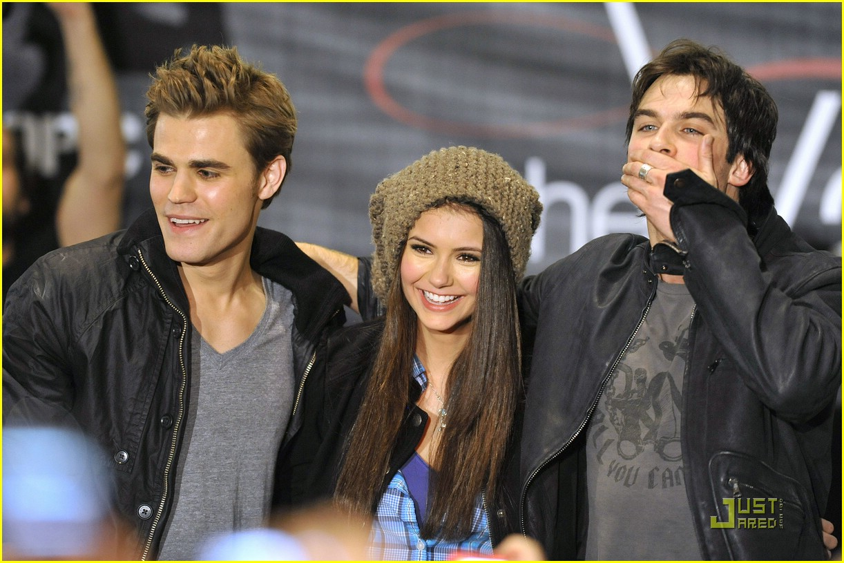Cast vampire diaries dating real life