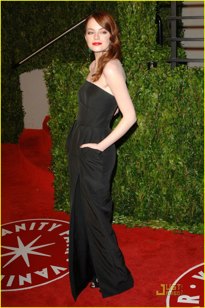 emma stone vanity fair party 04