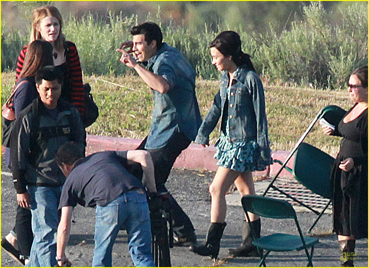 joe jonas demi lovato shoot sweet 20