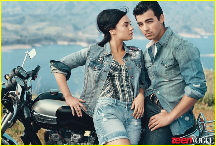 joe jonas demi lovato teen vogue 10