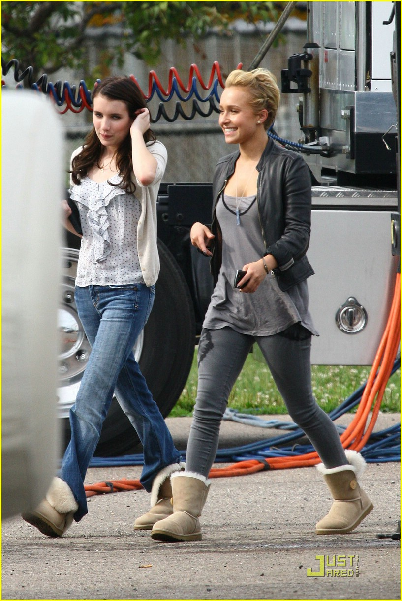 emma roberts scream set 03