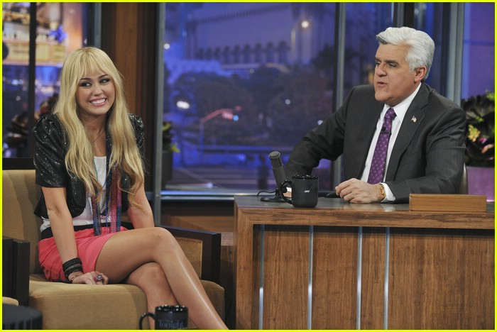 miley cyrus jay leno remember hm 41