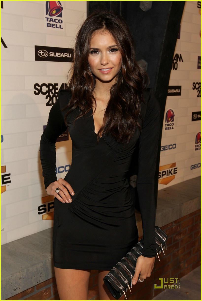 nina dobrev scream awards 05