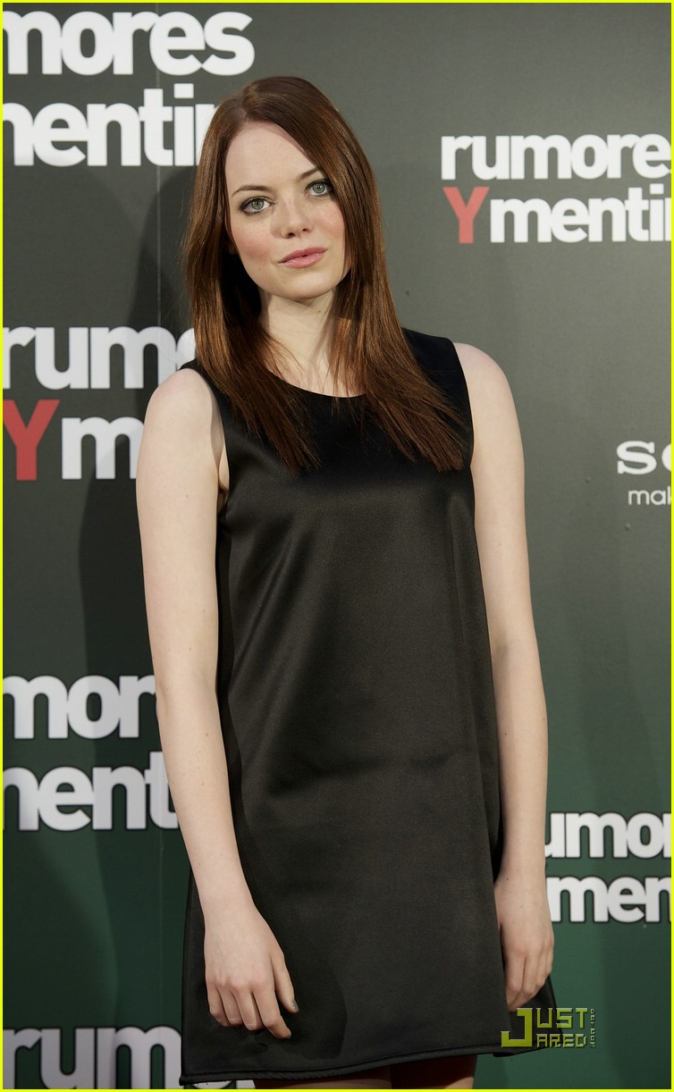 emma stone easy a madrid 10