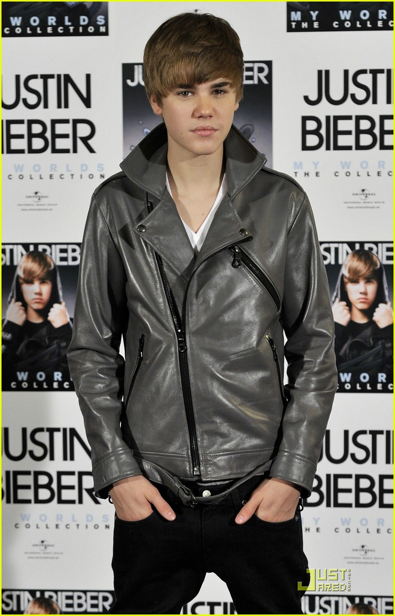 justin bieber madrid gold record 12