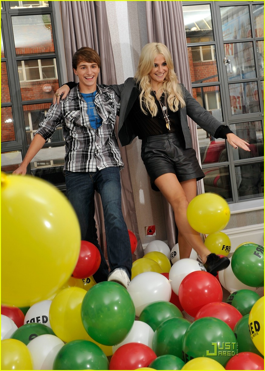 pixie lott lucas cruikshank fred london 14