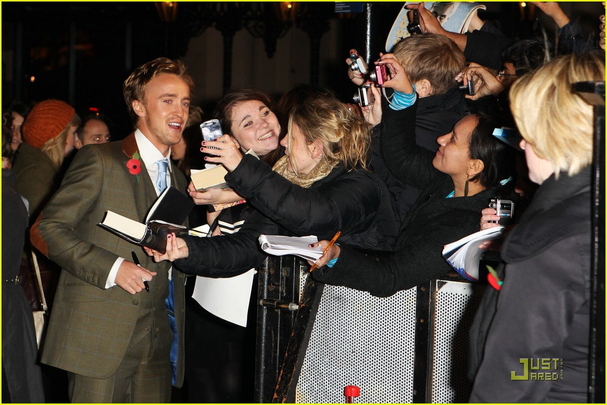tom felton evanna lynch hp premiere 08