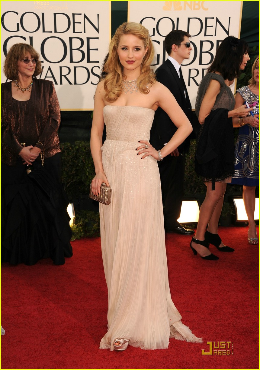 dianna agron alex pettyfer globes 16