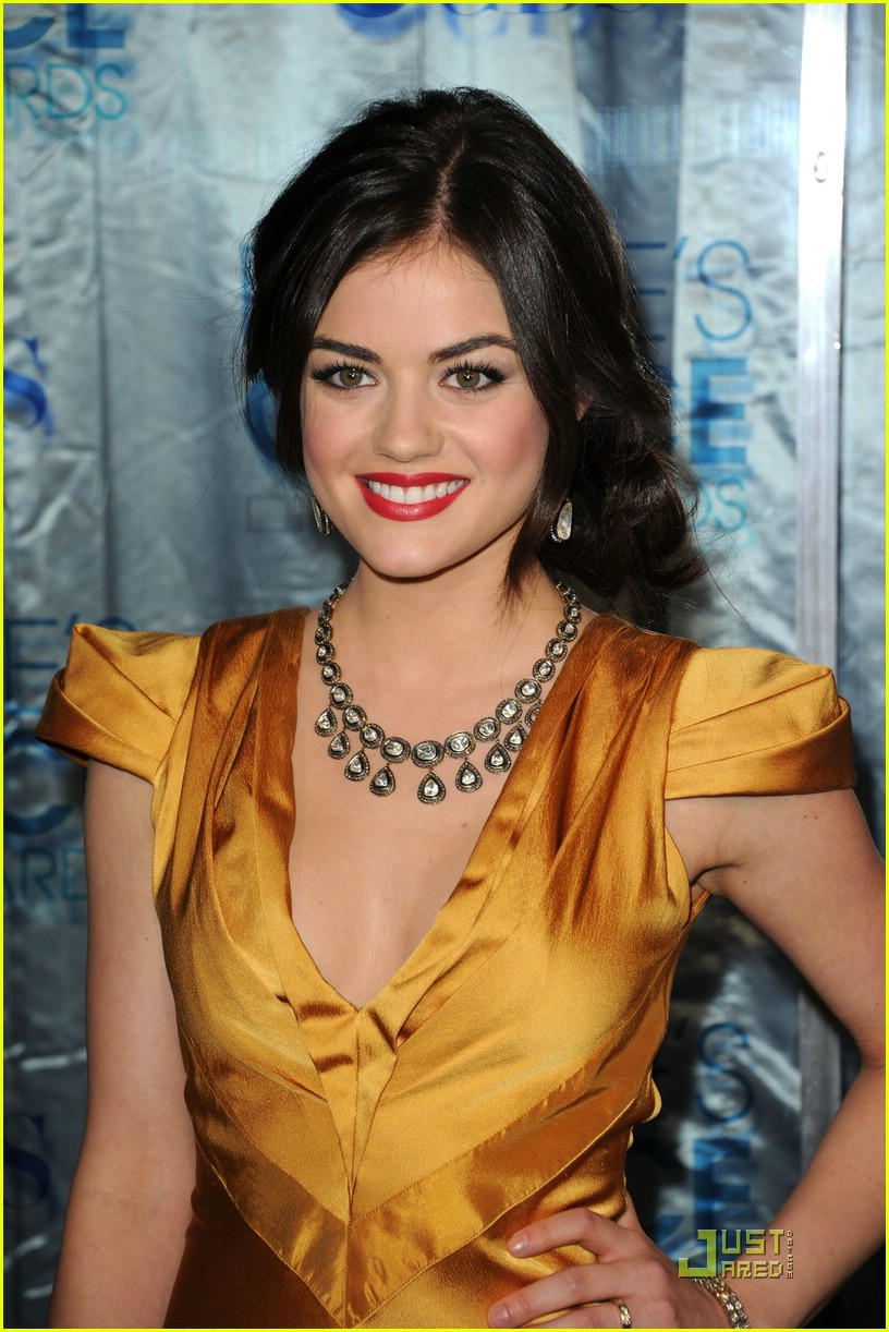 lucy hale ashley benson pcas 01