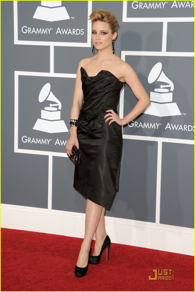 dianna agron grammy awards 01