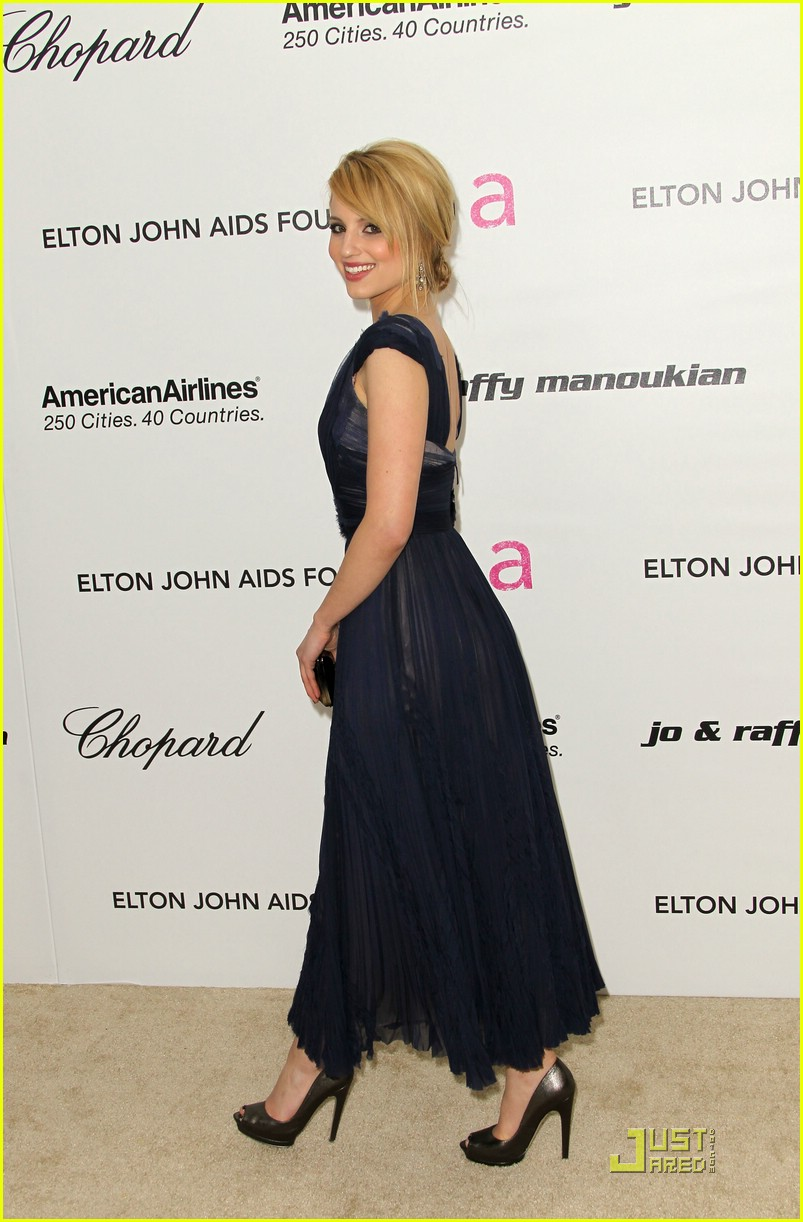 dianna agron oscar parties 18