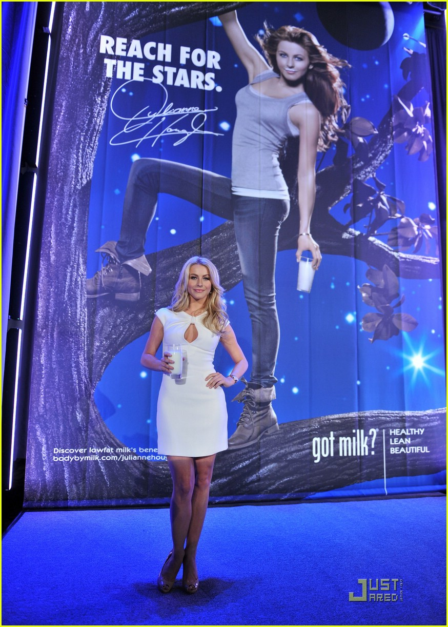 julianne hough got milk ad 17