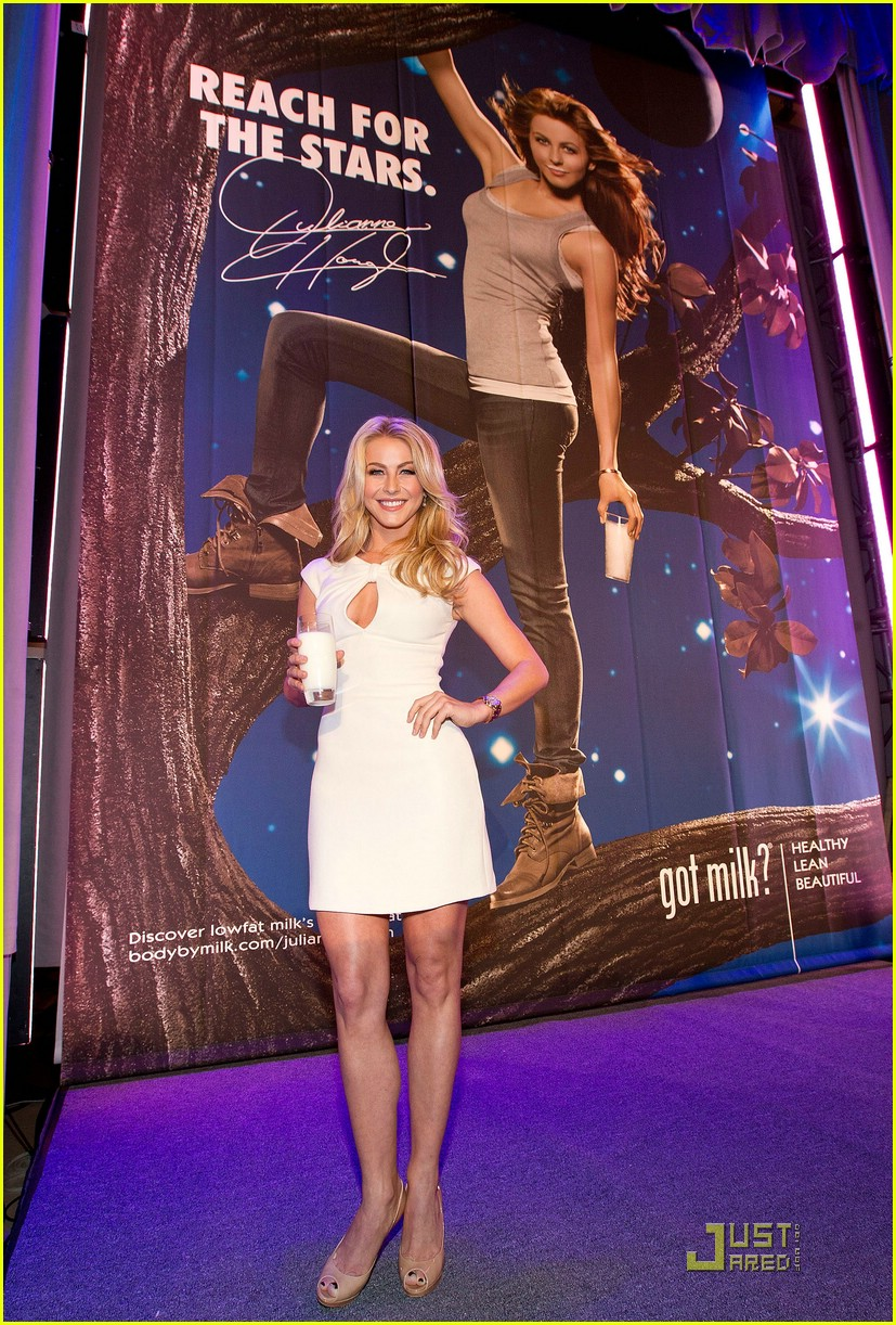 julianne hough got milk ad 22