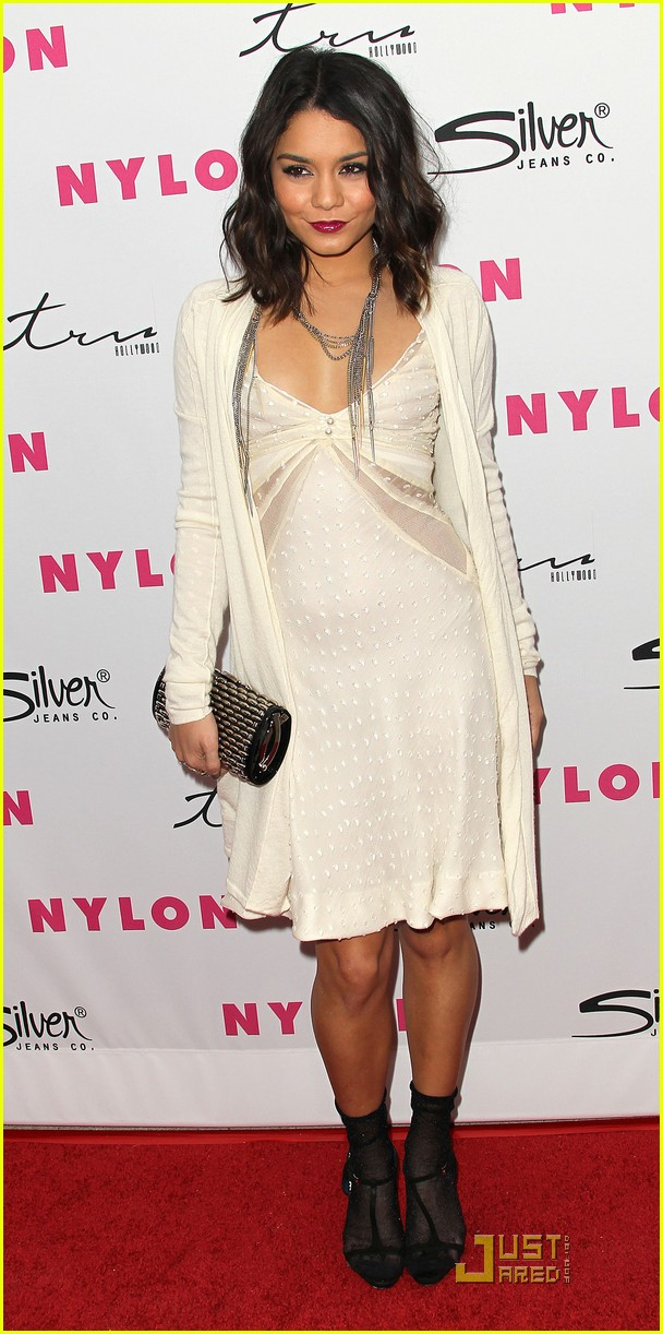 vanessa hudgens nylon magazine party 01
