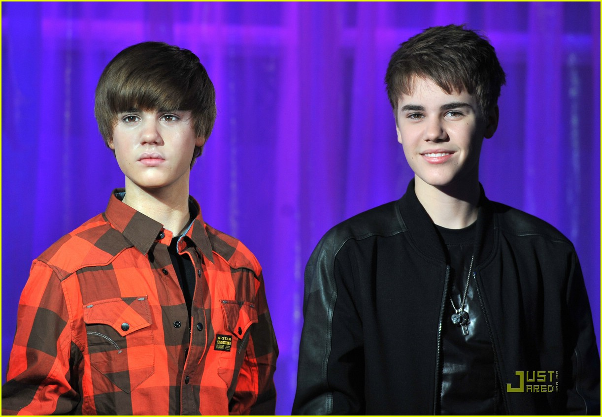 justin bieber wax figure 16