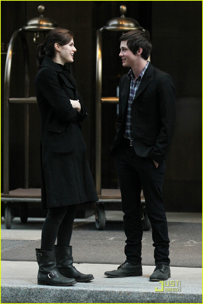 logan lerman alexandra nyc 01