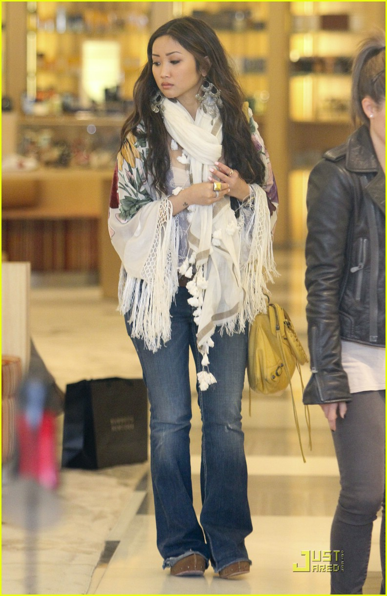 brenda song barneys shoes 10