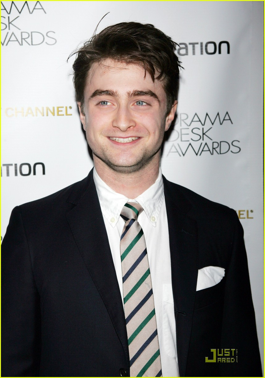 daniel radcliffe kiss drama desk 02