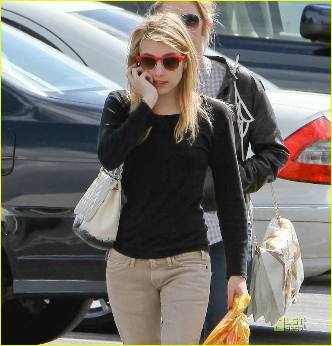 emma roberts parking lot sale 12
