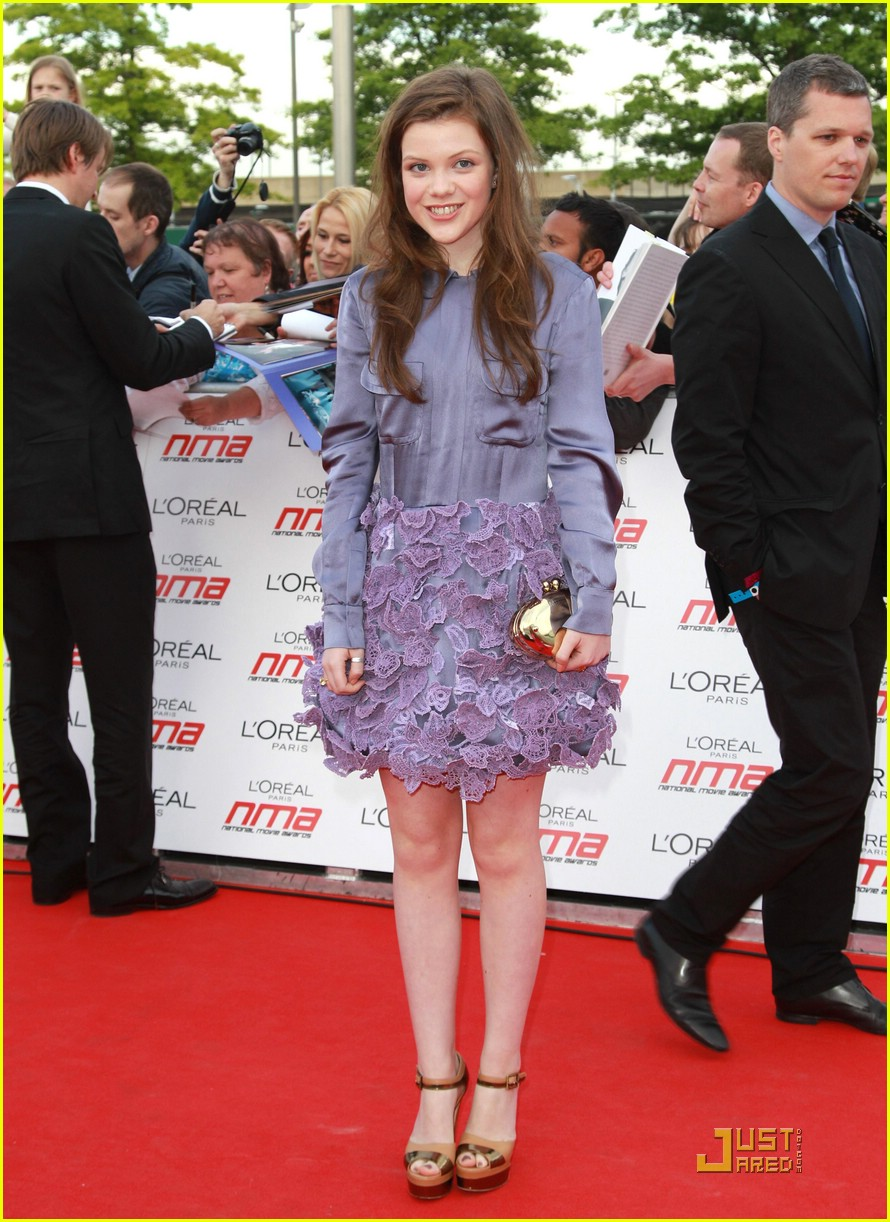 georgie henley national movie awards 03