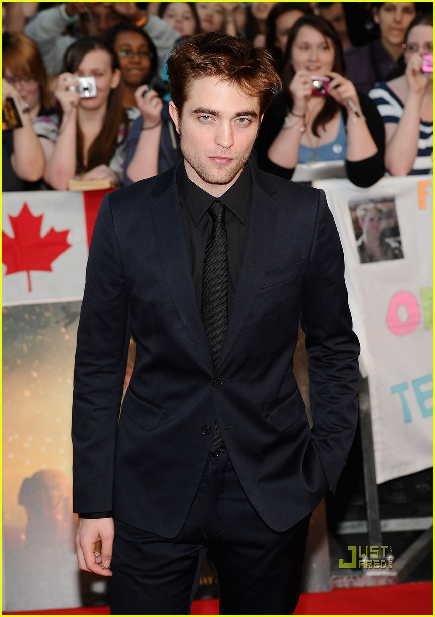 robert pattinson water for elephants uk premiere 05