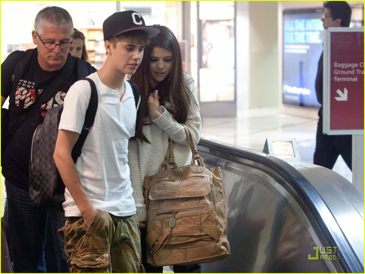 justin bieber selena gomez lax 02