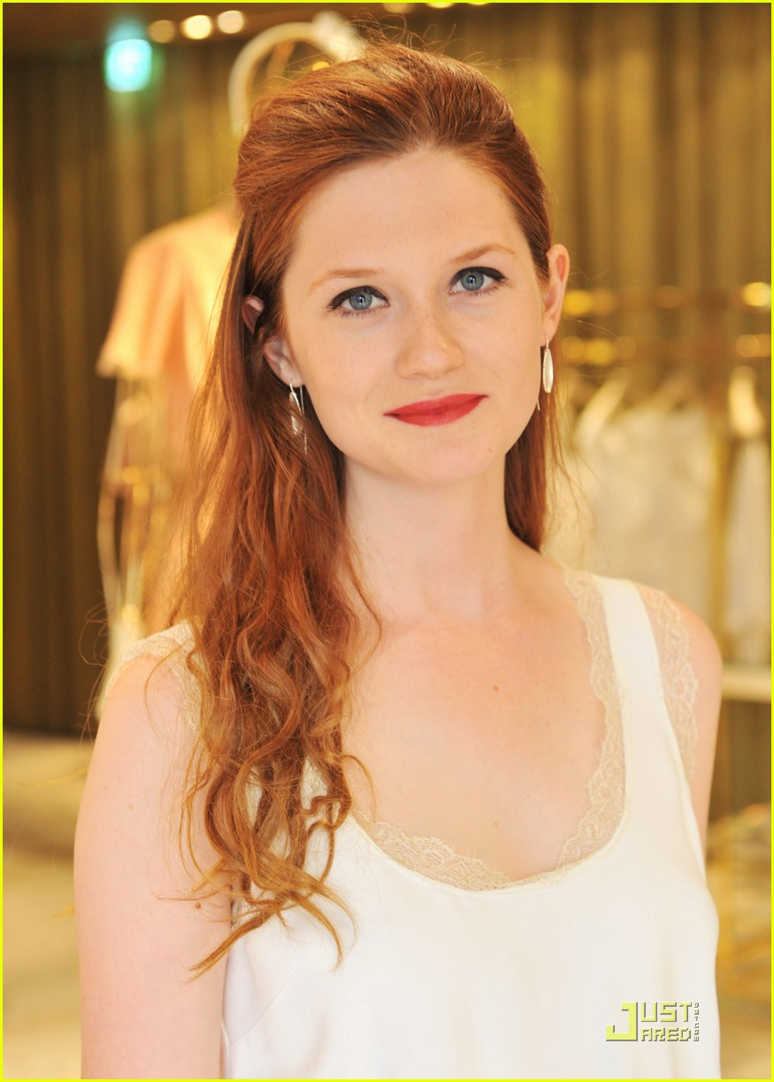 Bonnie Wright Is Picture Perfect As She Attends The Miu Musings