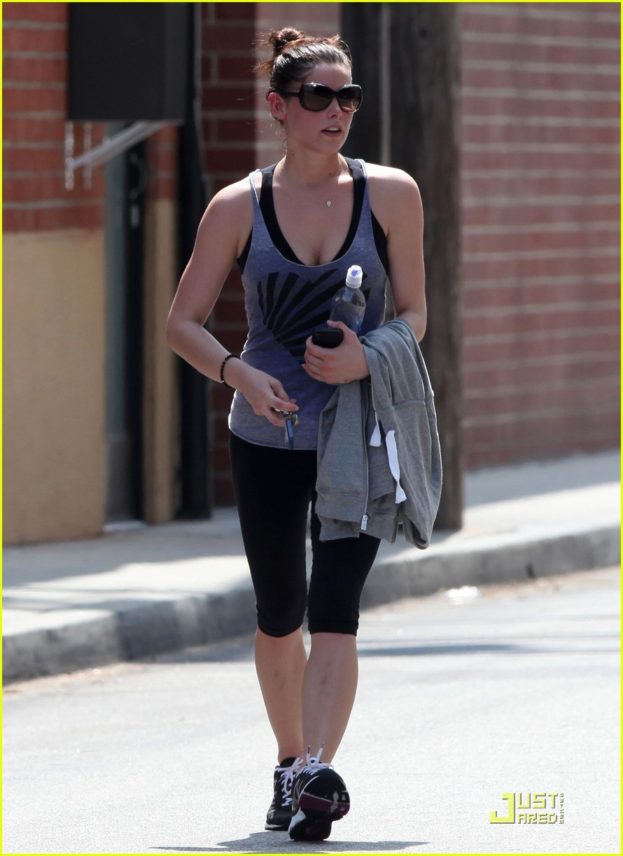 ashley greene workout woman 04