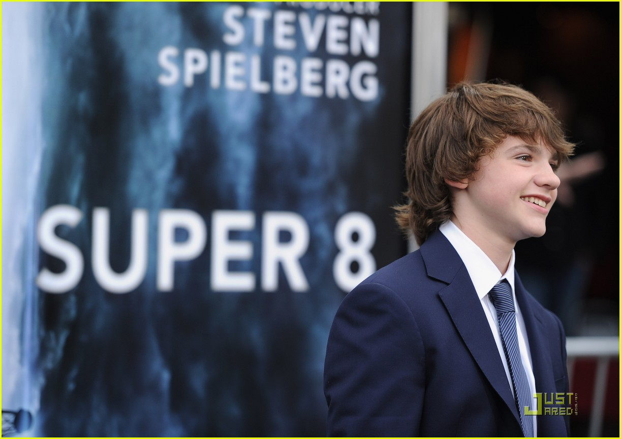 joel courtney super 8 premiere 07