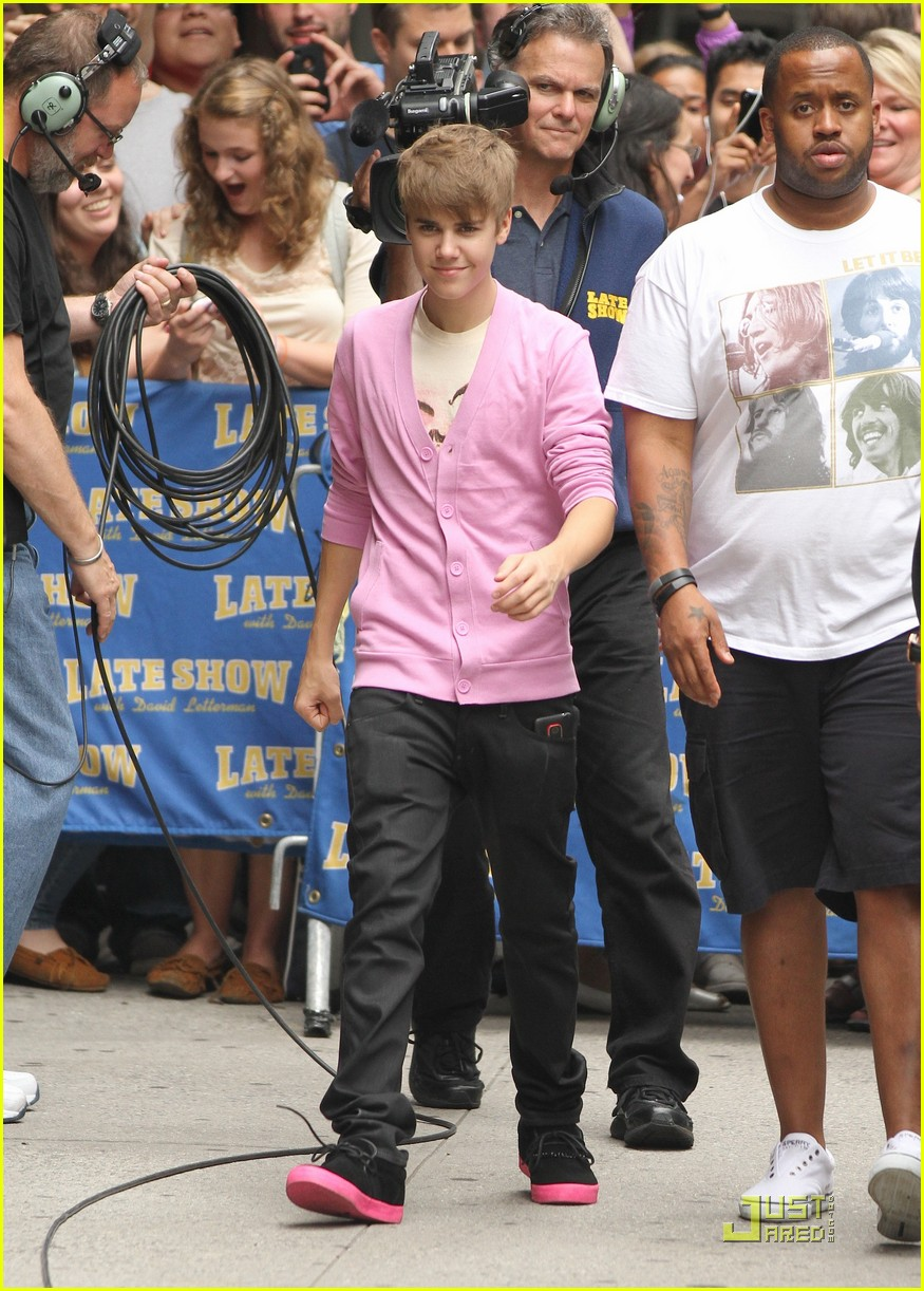 justin bieber top ten letterman 07