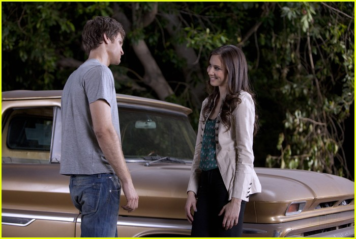 troian bellisario keegan allen car kisses 12
