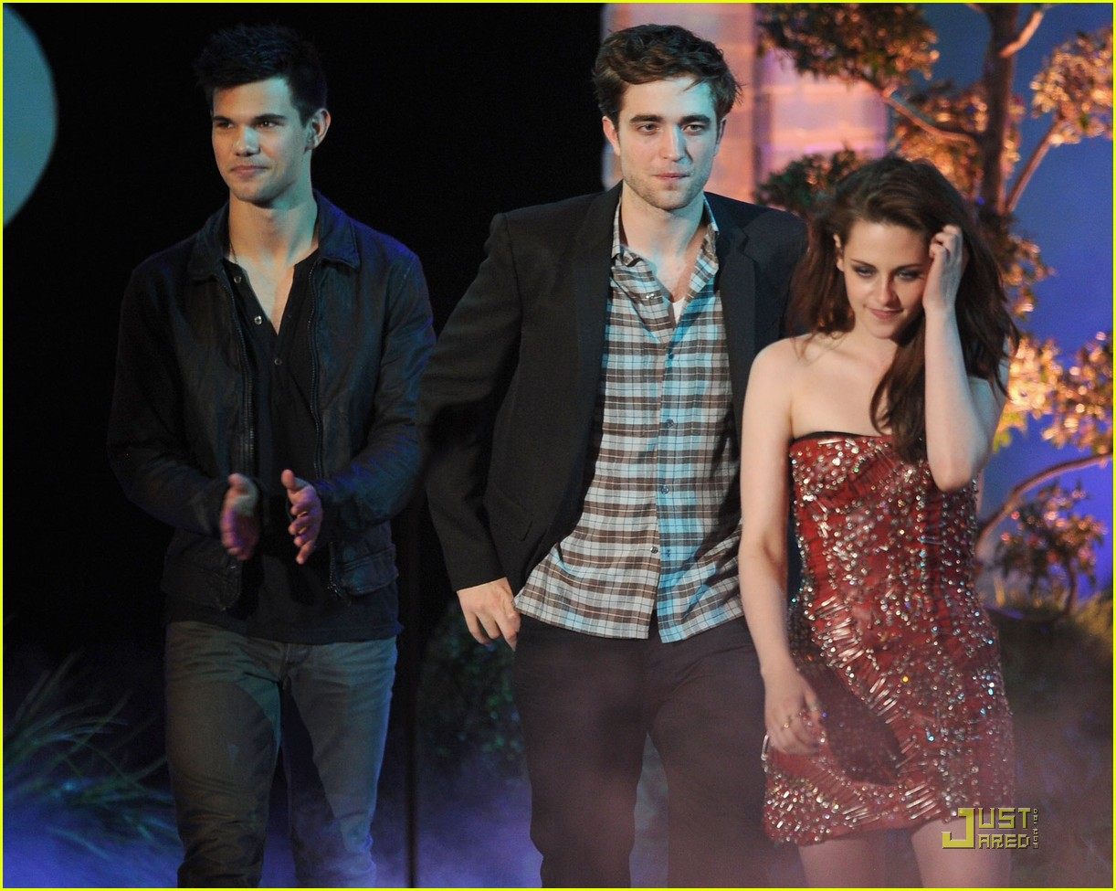 twilight eclipse mtv movie awards 09