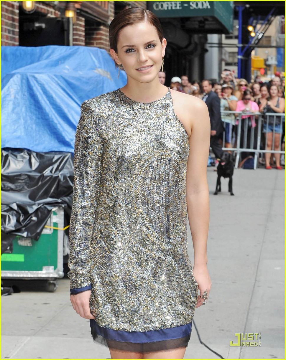 emma watson today letterman 04