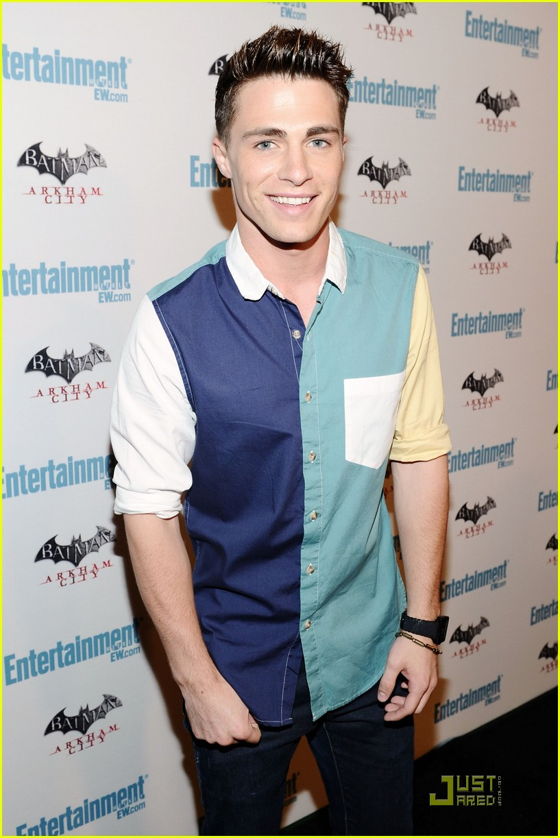 colton haynes ew sdcc party 07