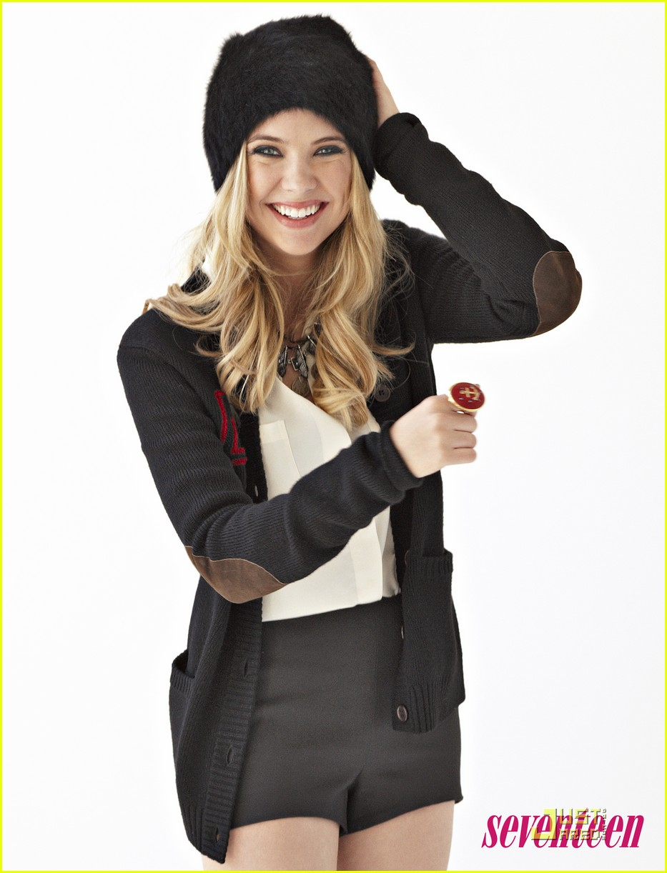 ashley benson seventeen sept 01