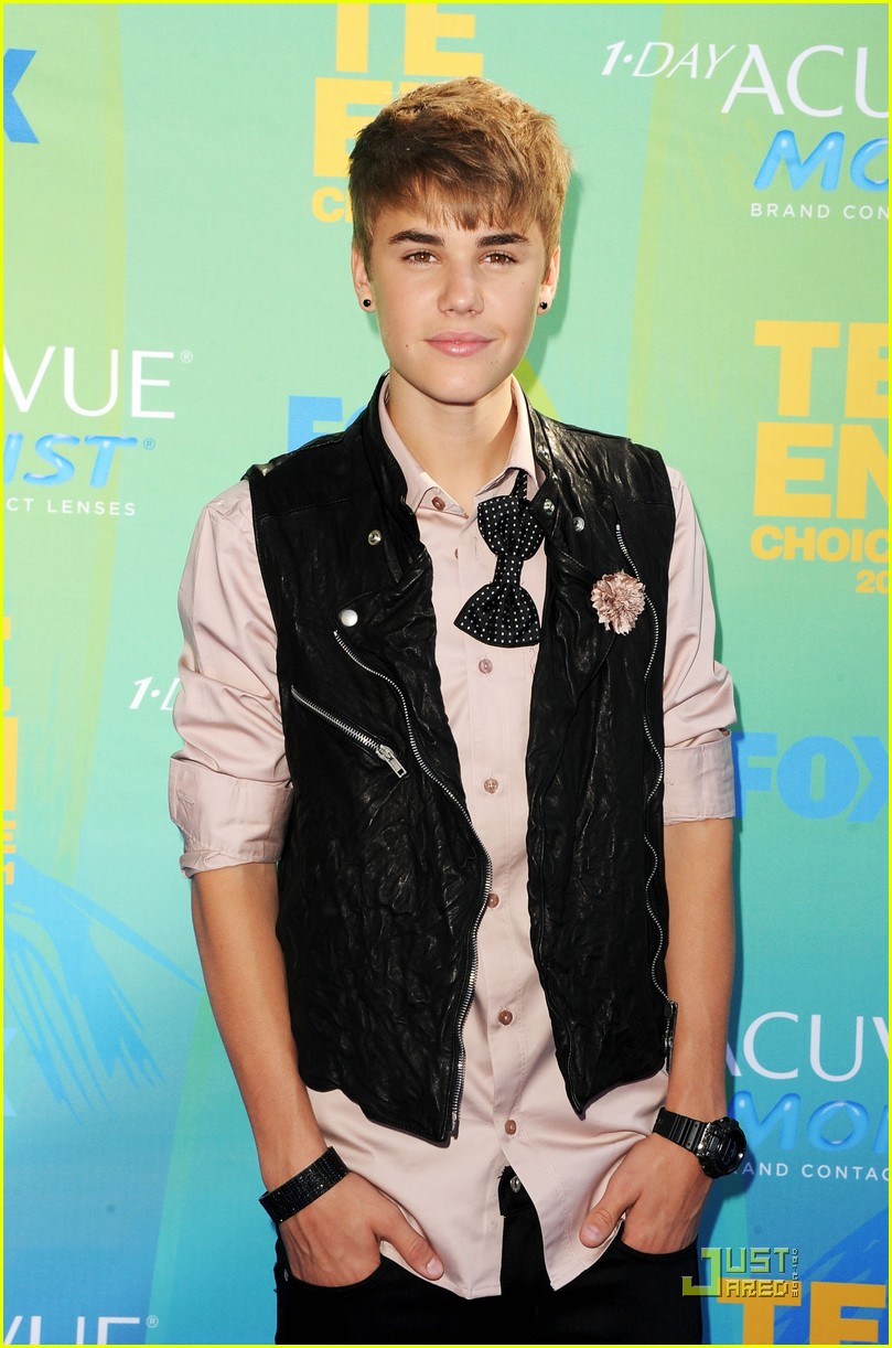 justin bieber teen choice 16