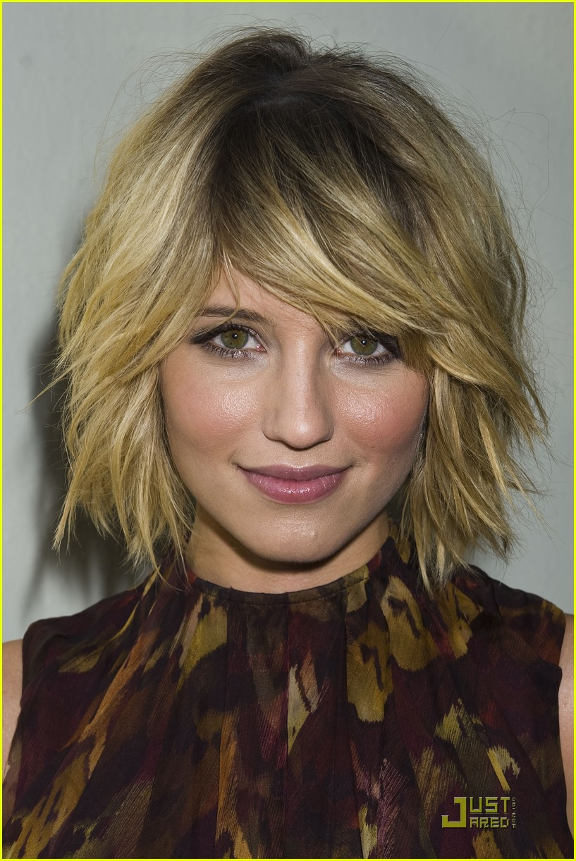 dianna agron glee conference 03