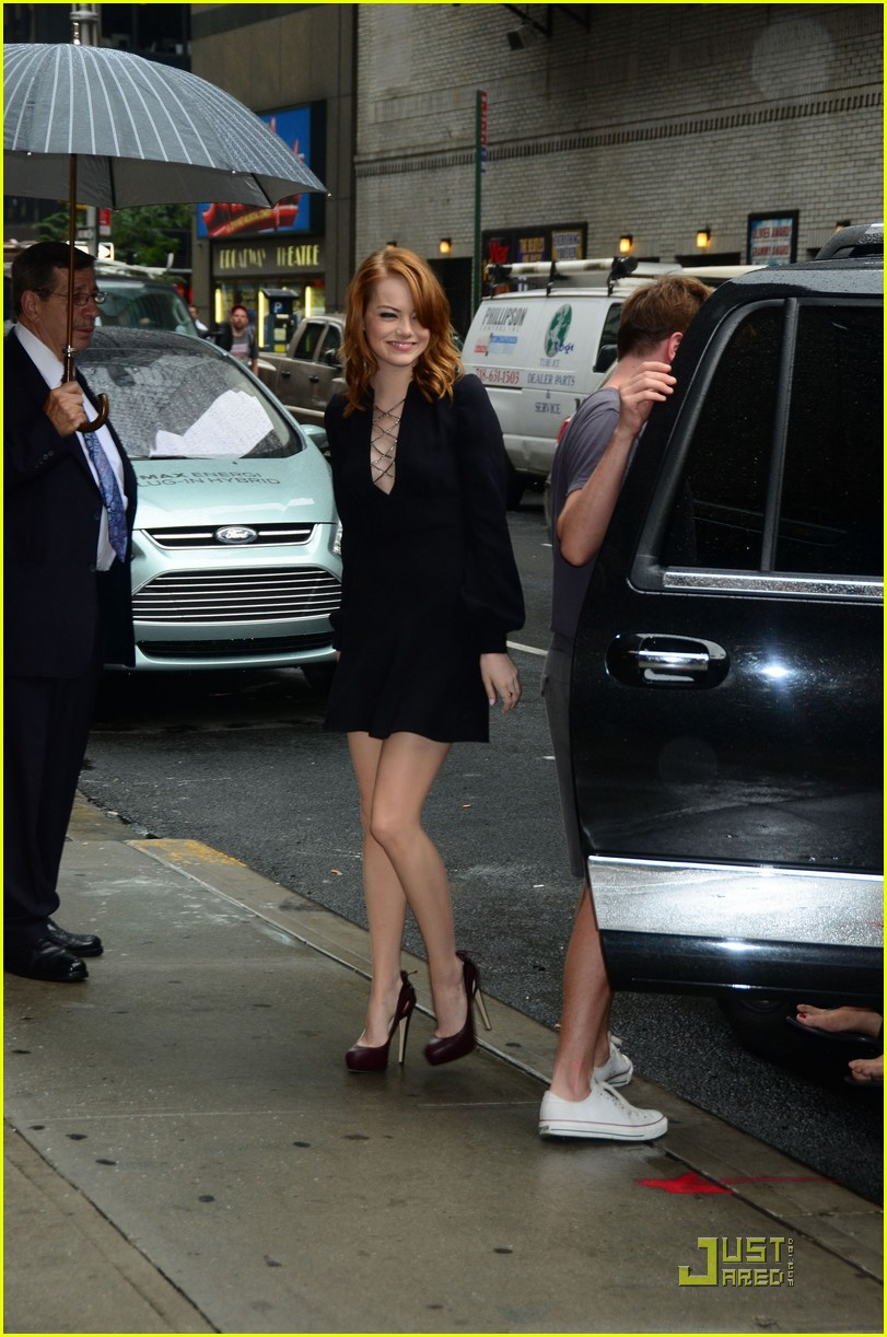 emma stone letterman 02