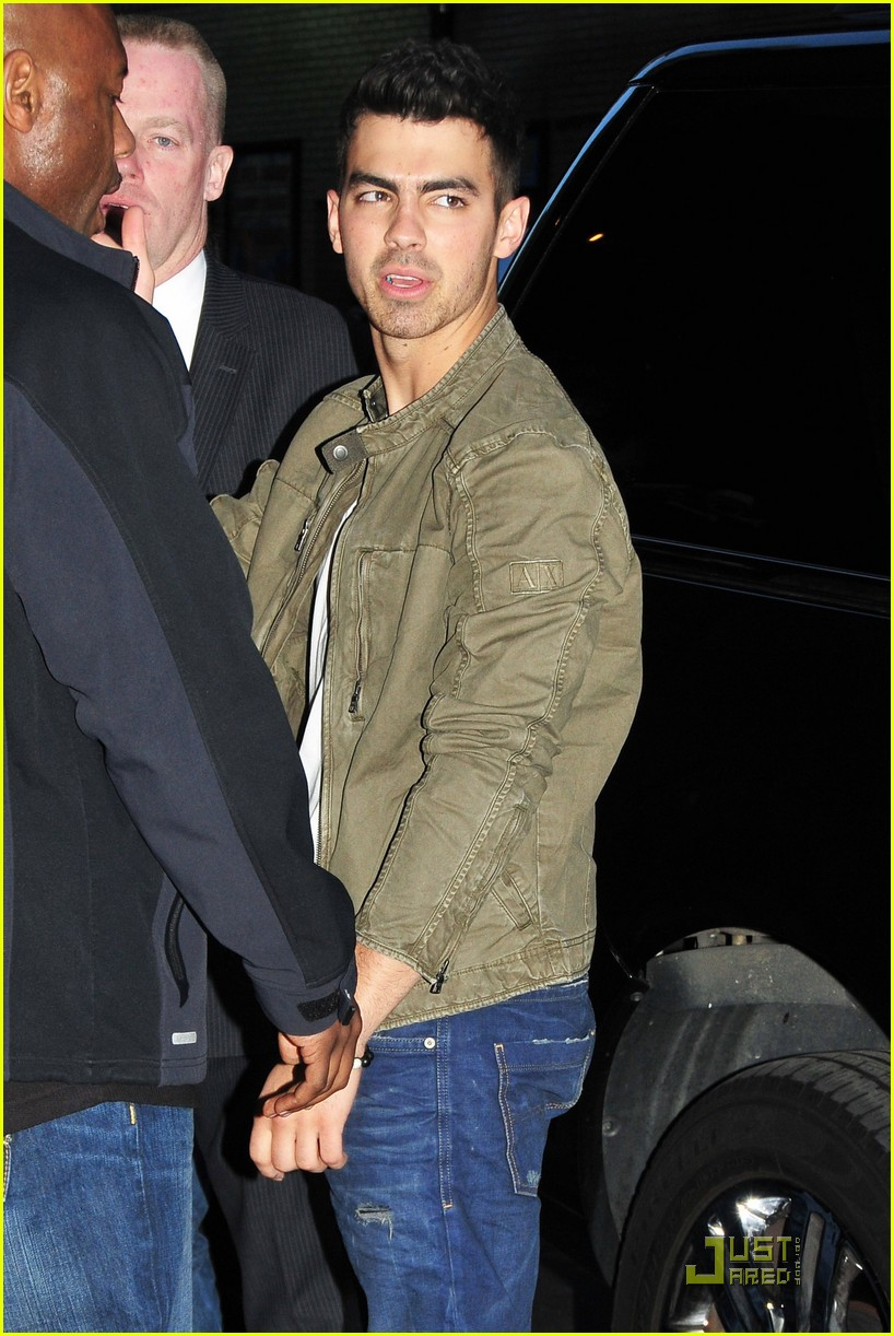 joe jonas letterman 04