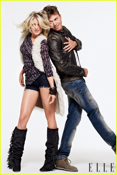 Julianne Hough Gets 'Footloose' with ELLE