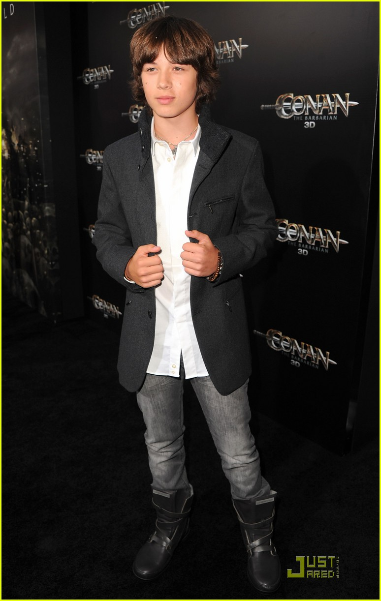 leo howard conan premiere 02